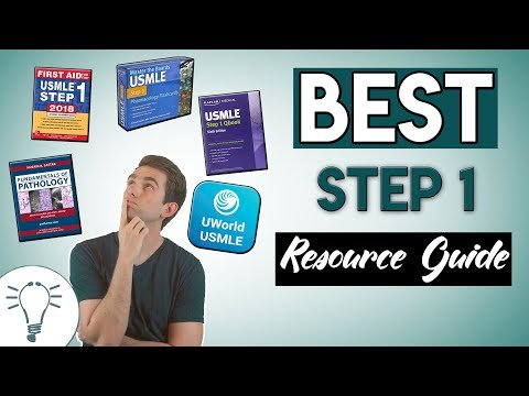 List of USMLE Step 1 Books To Study