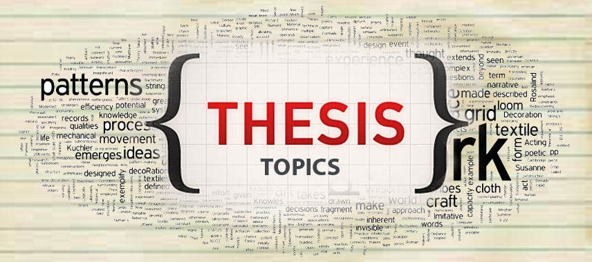 Anaesthesiology Thesis Topics For Residents / MD/MS