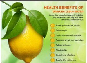 20 health benefits of lemon