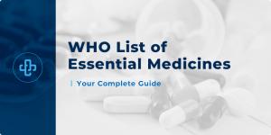 WHO Essential Medicine and pediatric medicine