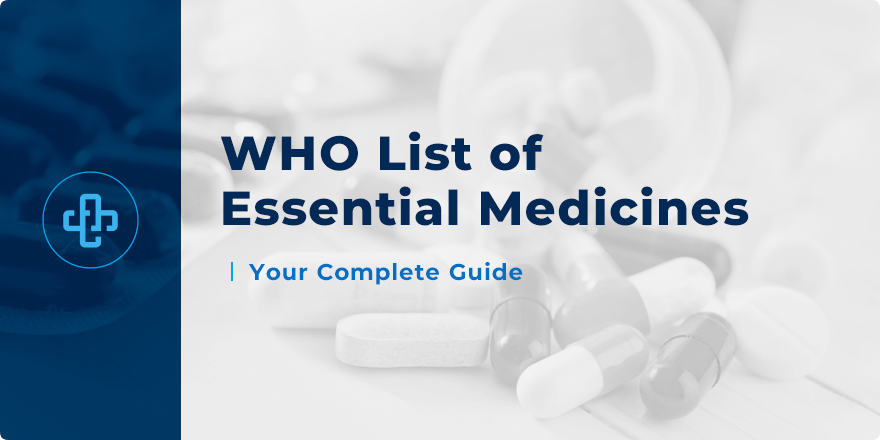 who list of essential medicines