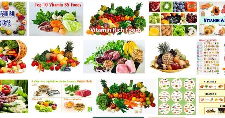 Vitamins Our Body Need We Get From Food