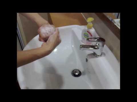 7 handwashing steps