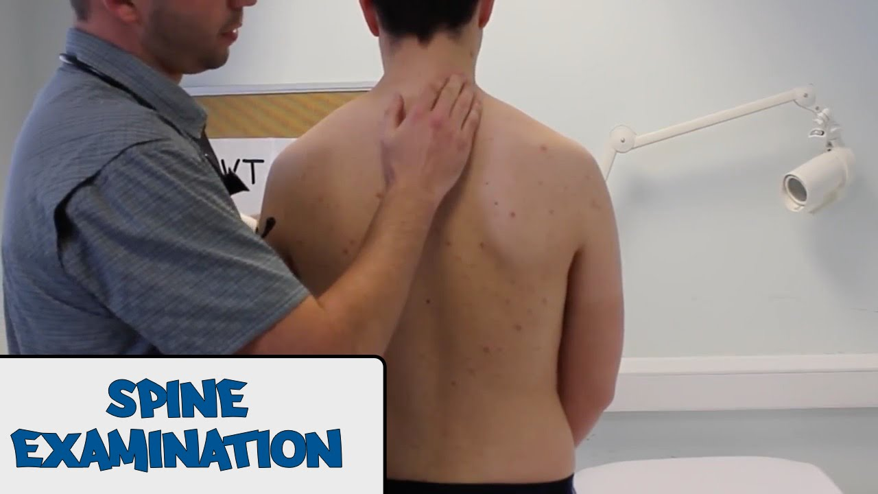 spine examaintion osce guide
