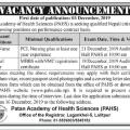 jobs at Patan Hospital