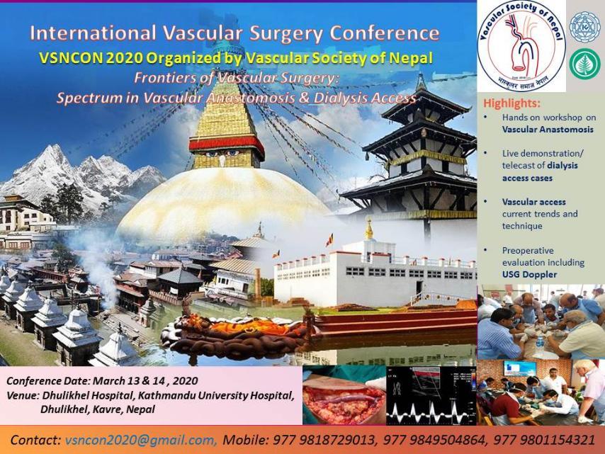 International Vascular Surgery Conference (VSNCON2020)