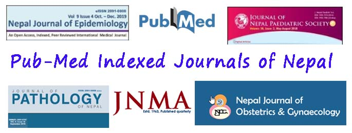 Pubmed Indexed Medical Journals of Nepal