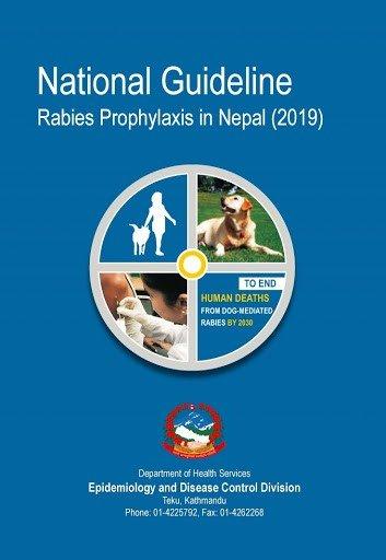 National Guideline Rabies Prophylaxis in Nepal 2019