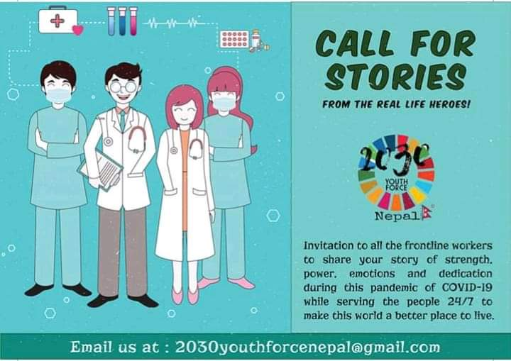 Call for Stories -Invitation to all the frontline workers