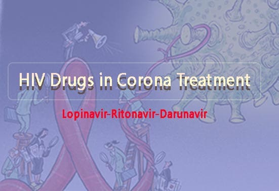 What are the HIV Drugs Used for CoronaVirus Treatment ?