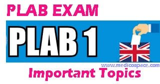 Important Topics to study for PLAB Exam