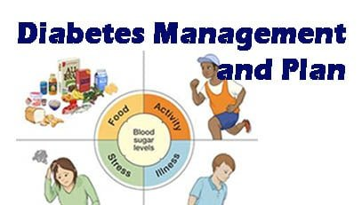 diabetes managment and plan with Exercise and Food