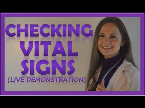 howtotake vitals sign