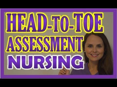 nursing head to toe assessment medicospace