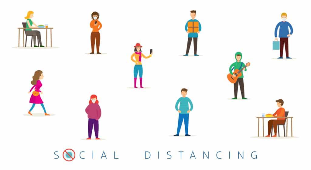 social distancing medicospace