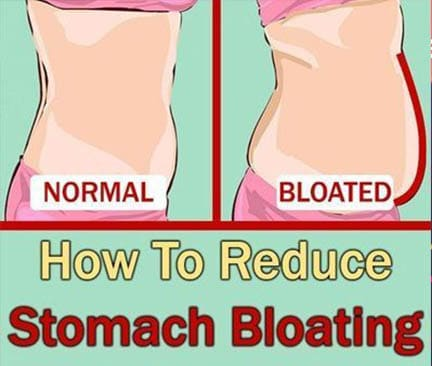 Easy way to relieve bloating and gas fast