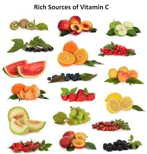Rich source of vitamin c foods and drinks