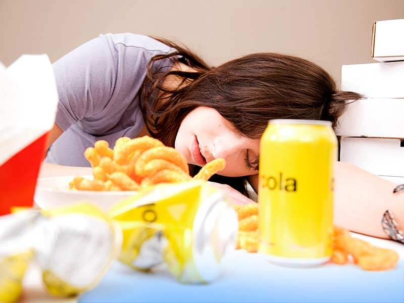 never sleep after meal medicospace