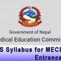 MDMS Syllabus for MECEE PG Entrance Exam