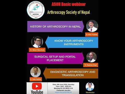 Basics of Arthroscopy | ASON webinar 1