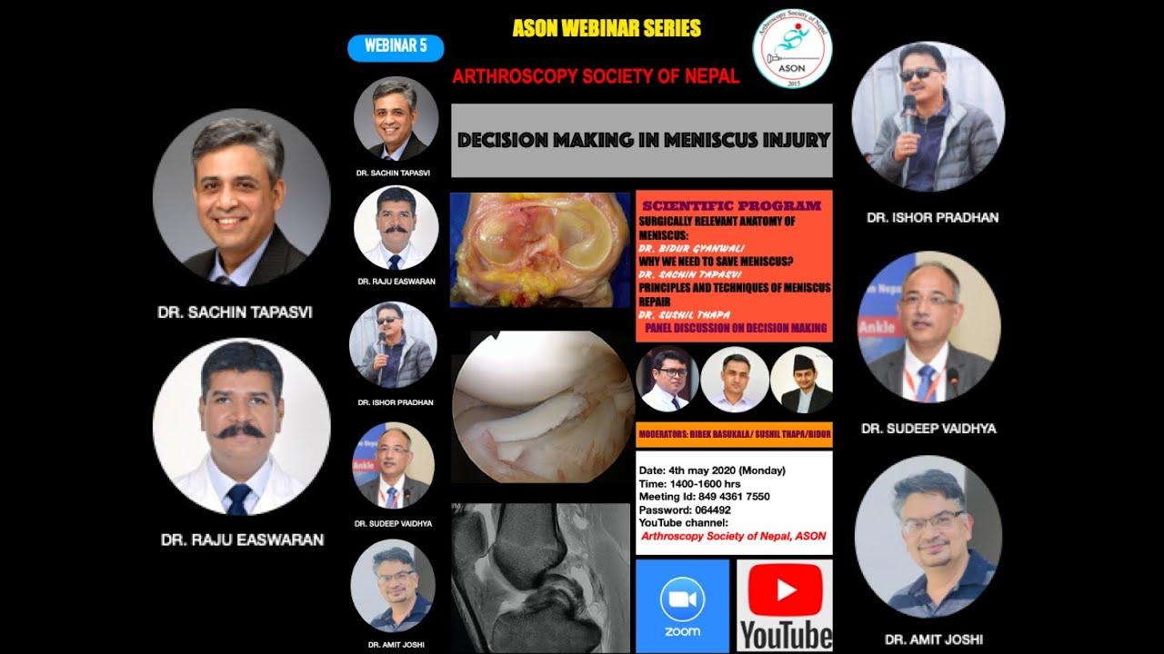 decision making in meniscus inju
