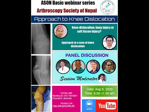 approach to knee dislocation aso