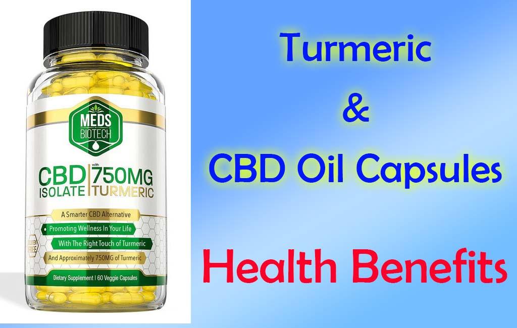Turmeric and CBD Capsule Health Benefits