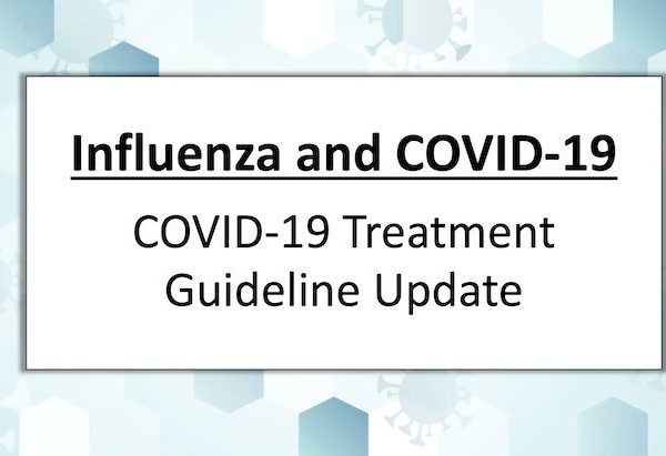 What's New in the Guidelines Last Updated: September 15, 2021